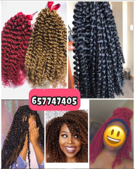Meches passion twist / crochet braids / postiches disponible a dla