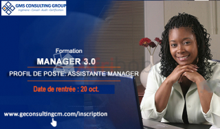 Formation MANAGEMENT 3.0-Assistant Manager