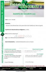 10 agents de sécurite