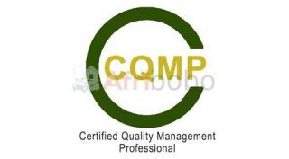 Certification CQMP, Certified Quality Management Professional