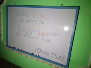 Tableau Blanc - 80x120cm -Made in Cameroon