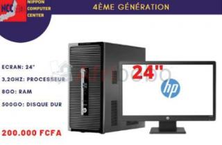 Tour complet dell hp 4eme generation 8GB RAM 500 GB HDD