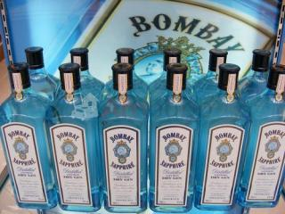 Bombay sapphire gin 12x75cl gex 47%