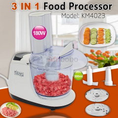Robot culinaire multifonction dsp km ml - 180w