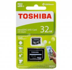 Carte mémoire toshiba original micro sd 32 gb