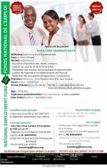 Recrutement assistant administratif