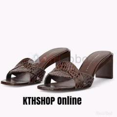 Mule Croco ZARA Marron