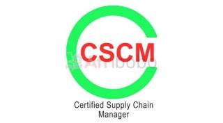 Certification CSCM : Certified Supply Chain Manager