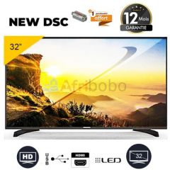 "Tv new dsc led - 32"" - hd - noir"