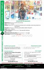 Vendeuse en magasin