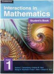 Interactions in mathematics level form 1