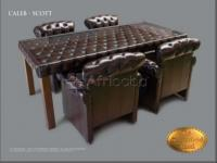 Table Chesterfield Caleb (Nom) 100X220