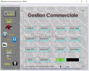 Gestion Commercial Excel