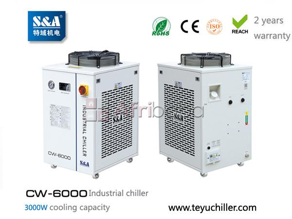 S&a industrial chiller cw-6000 for cooling vacum system #1