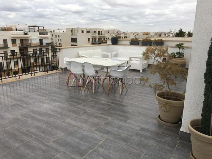 Rent studio with roof terrace in Westown Sheikh Zayed City #1