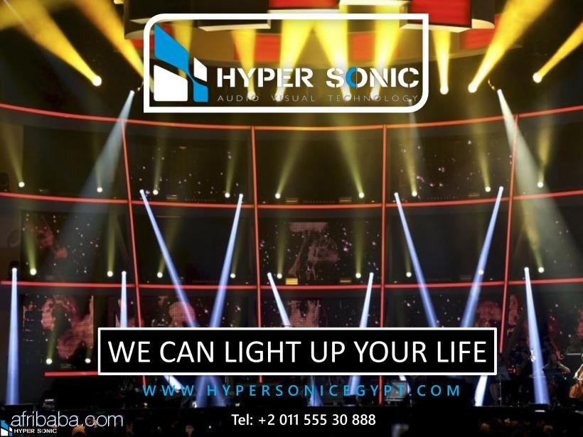 Rent the best light equipment in Egypt