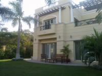 Rent furnished villa inside compound at Sheikh Zayed City Egypt