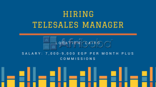 We are in need of Telesales Managers