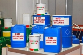 Pure ssd solution egypt    for cleaning black not