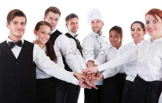 Cook , receptionist , drivers , waiters and waitress required