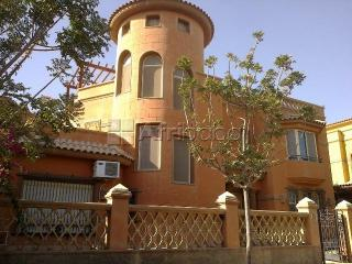 For Rent villa in compound palm hills open View at 6 October city