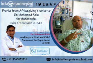 Liver Transplant Surgeon changed the Life of a African Patient