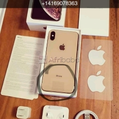 Brand new apple iphone xsmax gold with 256gb