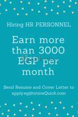 Be part of our amazing team! We are Hiring HR Personnel