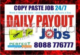 Tips to make daily income from copy paste work earn daily income rs.