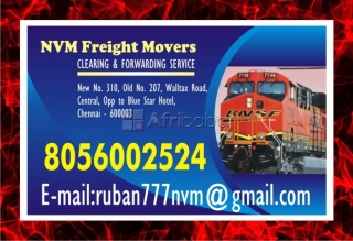 NVM freight Movers No. one in Chennai Freight Movers