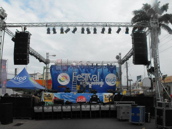 Event Stage Rental #1