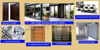 Burglar proof, roller shutter, doors, gates, balustrades for sale
