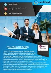 Itil practitioner certification training course ghana | certifiedghana