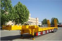 Front Load, Lowbeds & Heavy Duty Hydraulic Steering Axle Trailer &