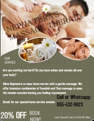 Professional Home Service Massage