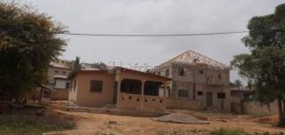 2 bedroom + 2 big stores for sale at santa maria accra