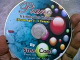 piano training video cd for you