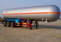LPG Gas Tanker Semi - Trailer