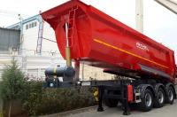 semi tipper trailer
