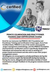 Prince2 foundation and practitioner training and certification course