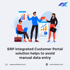 ERP Integrated Self Service Portal- FieldNXT