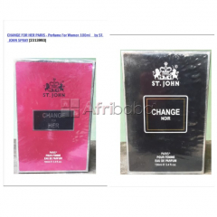 Change for her & change noir - perfume for women 100ml