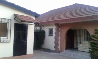 (Gamhousing) Fully Furnished Three Bedroom Compound With Pool For Sale.