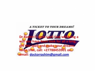 Get this lotto and casino spell to win any gambling game,