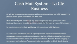 Cash Mail System