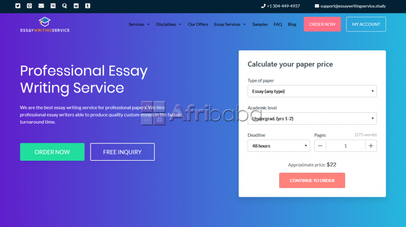 Professiona Academic Writing Services