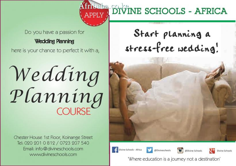 WEDDING PLANNING COURSE #1