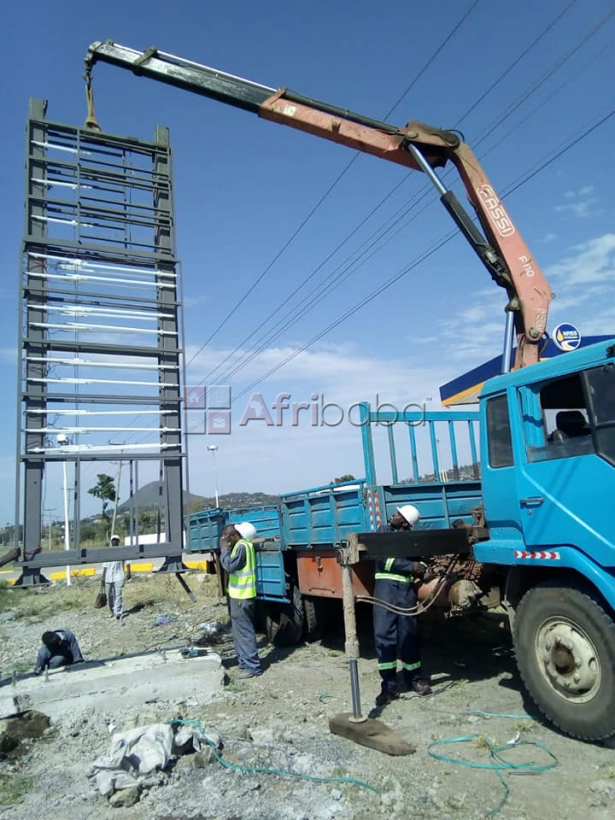 Transport services using Truck mounted Cranes in Kenya #1