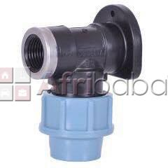 Wall plate female elbow
