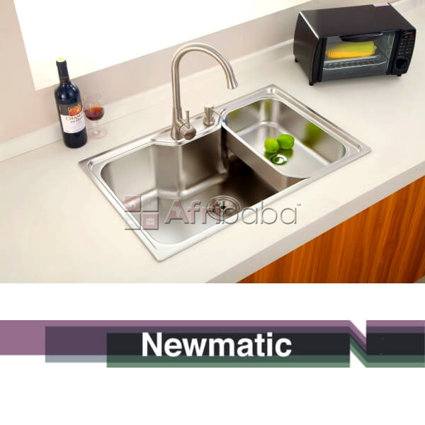 Newmatic Summer 78 Ultra Deep Bowl Kitchen Sink #1